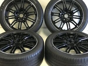 20 Incx9 5 Wheels Rims Tires Fit Porche Cayenne Gts Turbo Style 67408b Black