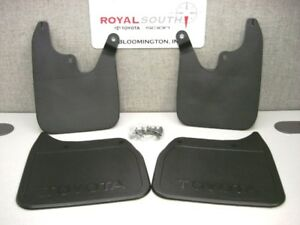 Toyota 01 02 Tacoma 2wd Mud Flap Guard Kit Genuine non prerunner Oem Oe