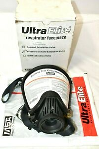 Msa Ultra Elite M7 Facepiece Respirator pressure Demand Scba Large New