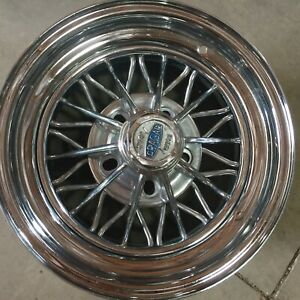 1 Crager Star 30 Spoke Wire Wheel In Very Good Condition 15x7
