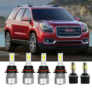6x Combo 9007 899 Led Headlight Bulb Fog Light Bulb Kit For Dodge Dakota 98 2000