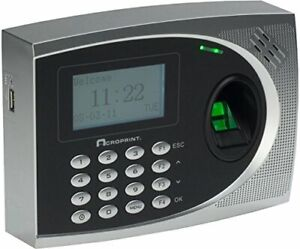 Acroprint Timeqplus Biometric Time And Attendance System qplus Bio