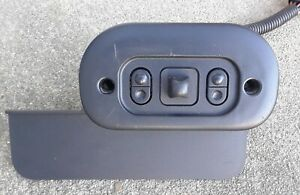 1999 2004 Mustang Driver Power Seat Control Switch And Bezel 99 00 01 02 03 04
