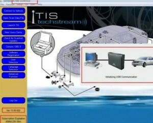 Latest Version Toyota Tis Techstream V13 00 022 Dealer Diagnostic Software