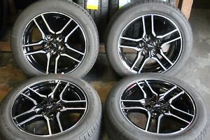Set Of 4 Ford Mustang 2018 2019 18 Oem Rims 10157 Tires 235 50r18 97w 3518