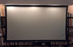 100 Da lite Motorized Projector Screen Tensioned Gain 1 3