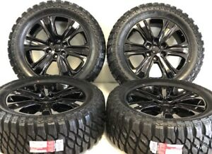 20 Ford F150 Expedition Set 4 04 19 Black Factory Oem Wheels Rims Tires Offr