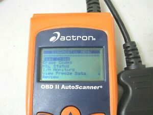 Actron Obd Ii Auto Scanner Cp9175 Automotive Code Scanner