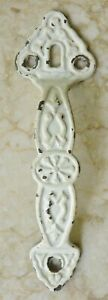 Vintage Cast Metal Ornate Door Cabinet Handle Pull Architectural Detail