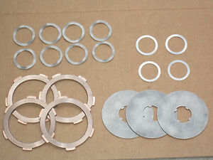 Pto Clutch Kit Disc Plate Shims Wavy Springs For Ih 154 Cub Lo boy 185