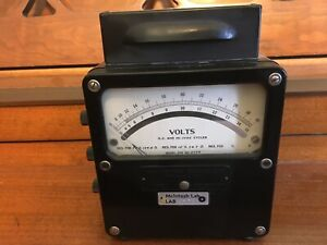 Weston Electric Voltmeter As Used By Mcintosh Lab