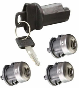Ford Oem Ignition Switch Lock Cylinder Door Pickup Tailgate Lock Set