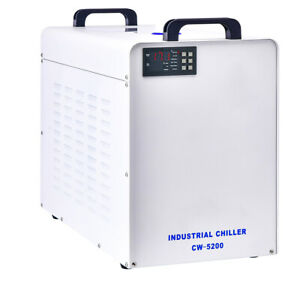 Us Cw 5200 Industry Water Chiller For Co2 Laser Engraving Cutting Machine 110v