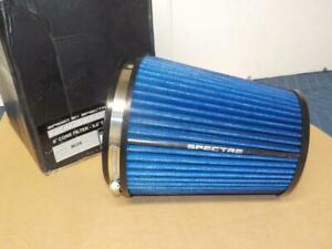 Spectre Hpr9891b Clamp on Cold Air Intake Air Filter 6 Flange X 8 5 Tall