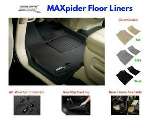 3d Maxpider Kagu Floor Mats Liners All Weather For Ford Expedition 2007 2010