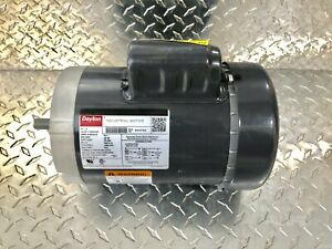 Dayton 6k197bg Motor 1 Hp Capacitor Start 3450 Rpm 115 230 V