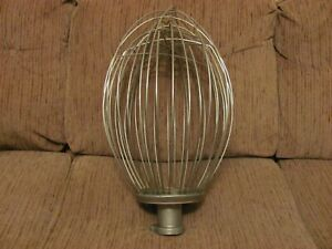 Hobart Mixer 80 Qt Vmlh80d Stainless Steel Wire Balloon Whisk Whip Nsf