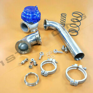 Mvr44 Tial 44mm Wastegate 14psi stainless 304 Dump Pipe Tube elbow Inlet Adaptor