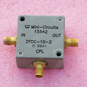 1pc Used Mini circuits Zfdc 10 2 10 1000mhz 10db Sma Coaxial Directional Coupler