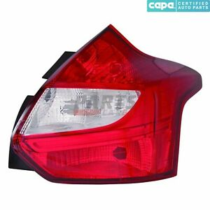 Right Passenger Side Tail Light Fits 2012 2014 Ford Focus 191275394113 Capa