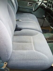1990 S 73 87 Chevy Truck Bench Seat With Fold Down Console
