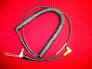 Trimble Gps Laser Technology Coiled Data Cable 4 Pin To 7 Pin Lemo P n 32287