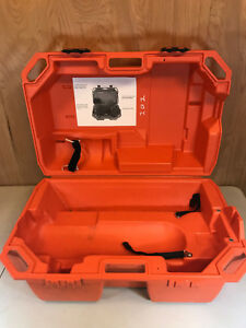 Drager Scba Orange Case Only Compressed Air Protection Draeger Free Shipping