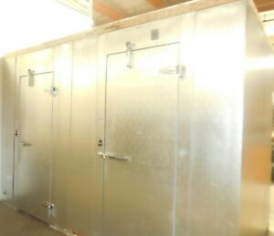 Used Aircooler Corp Walk in 12ft Combo Cooler freezer Remote Refrigeration