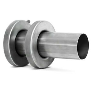 Dc Sports Stainless Steel Muffler Silencer Insert 3 Center Id 4 Center Od