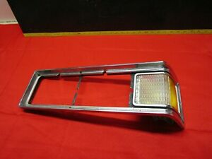 1975 Pontiac Grand ville Bonneville Headlight Bezel Parking Light Turn Sign Lh