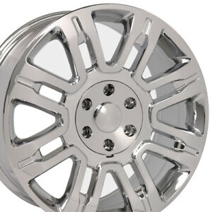 20 Rims Fit Ford F150 Expedition Navigator Chrome Wheels 3788