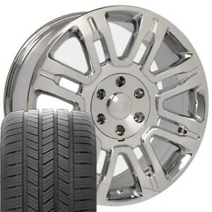 20 Rims Tires Fit Ford F150 Chrome Wheels Gy Tires 3788