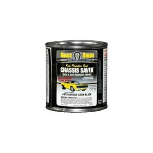 Magnet Paint Chassis Saver 8 Oz Satin Black Spray On Undercoating