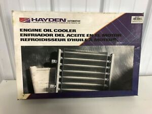 Engine Oil Cooler Hayden Automotive Products P N 457