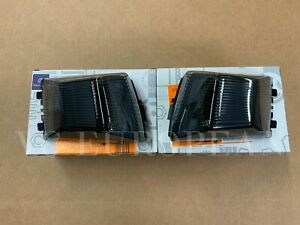Mercedes Benz Genuine G class Black Edition Front Turn Signal Set Smoked 2019