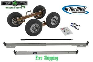 Tow Dolly Itd2778 p Sealed Hub Wrecker Tow Truck Rollback Rotator