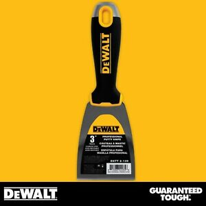 Dewalt Putty Knife 3 Stainless Steel Flexible Drywall Joint Paint Scraper
