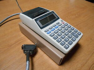 Ludlum Alpha Model 264 Printing Calculator With Cable