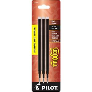 12 Packs Pilot Frixion Gel Ink Pen Refill 2 pack For Erasable Pens Fine Point