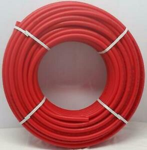 3 4 300 Coil Red Certified Non barrier Pex Tubing Htg plbg potable Water