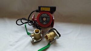 3 Speed Circulating Pump 34 Gpm With Cord With 2 1 1 4 Flanged Ball Valves