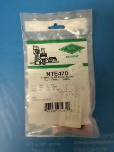 Nte Nte470 Silicon Npn Transistor Rf Power Output Sk9642 New