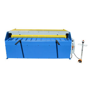 3hp 52 X 12 Gauge Hydraulic Shear Sheet Metal Cutter 5 64 2mm Thickness 4ft