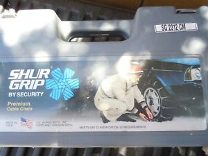 Sure Grip By Scc Traction Cables Security Chain Mud Snow Ice Sg 2312 Cm Usa 7