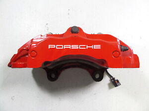 08 10 Porsche Cayenne Gts 957 Front Left Brake Caliper 18z 61k Mile 14 49 Fit