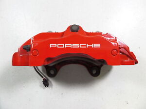 08 10 Porsche Cayenne Gts 957 Front Right Brake Caliper 18z 61k Mile 14 49 Fit