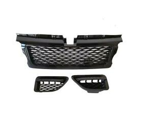 Range Rover Sport 06 09 Autobiography Grille Air Side Vents Gloss Black Abbb