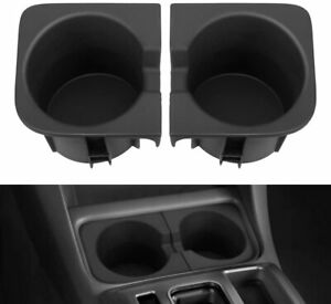 2pcs Black Cup Holder Insert For 2005 2017 Toyota Tacoma Right And Left