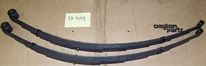 Rear Leaf Springs 64 69 Cuda 73 76 Dart W 3 Lift