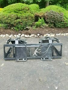 New 72 Tine Grapple Bucket For Skid Steer tractor Fits Bobcat